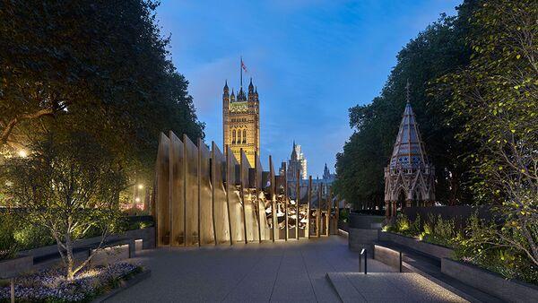 The planned Holocaust Memorial in Victoria Tower Gardens, London - Sputnik International