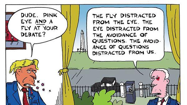 Pink Eyes & Houseflies - Sputnik International