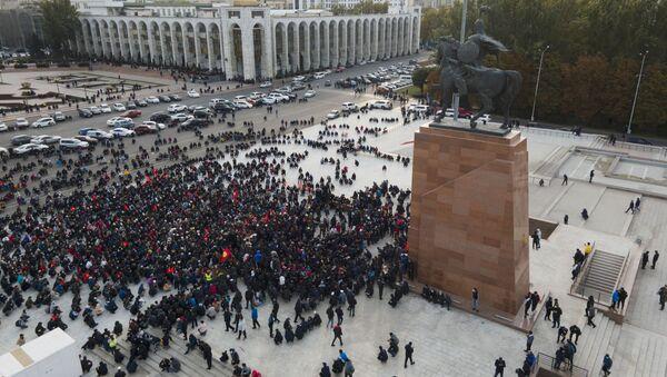 Situation in Bishkek, Kyrgyzstan - Sputnik International