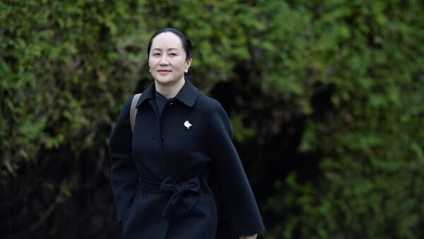 Huawei Chief Financial Officer Meng Wanzhou leaves her home to attend her extradition hearing at B.C. Supreme Court in Vancouver, British Columbia, Canada January 22, 2020.  - Sputnik International