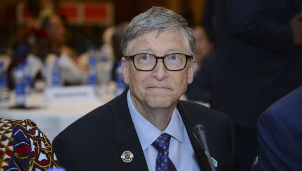 Bill Gates, chairman of the Bill & Melinda Gates Foundation, attends the Africa Leadership Meeting - Investing in Health Outcomes held at a hotel in Addis Ababa, Ethiopia Saturday, Feb. 9, 2019.  - Sputnik International