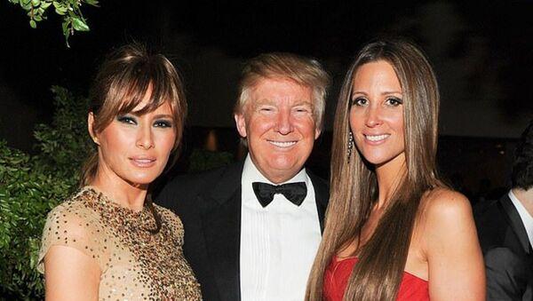 Melania Trump, Donald Trump, and Stephanie Wolkoff - Sputnik International