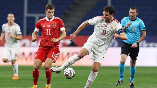 Soccer Football - UEFA Nations League - League B - Group 3 - Russia v Hungary - Lev Yashin Stadium, Moscow, Russia - October 14, 2020 - Sputnik International