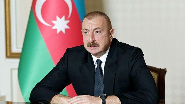Azerbaijani President Ilham Aliyev - Sputnik International