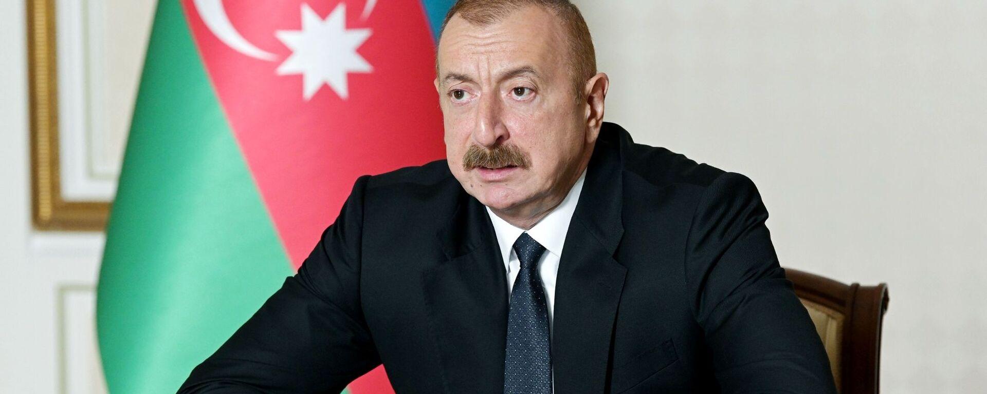 Azerbaijani President Ilham Aliyev - Sputnik International, 1920, 13.04.2021