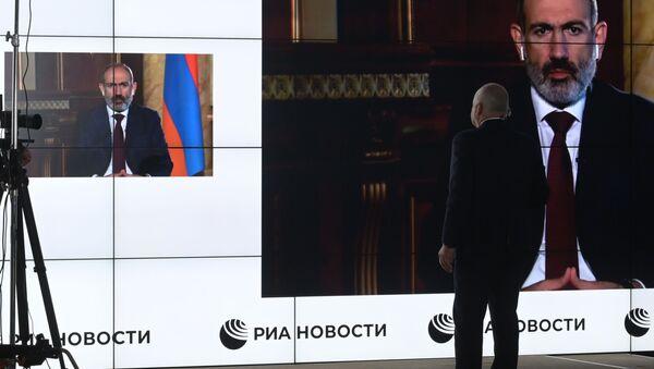 Armenia Azerbaijan Heads of State Interview - Sputnik International