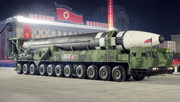 High resolution of the new North Korean ICBM. - Sputnik International