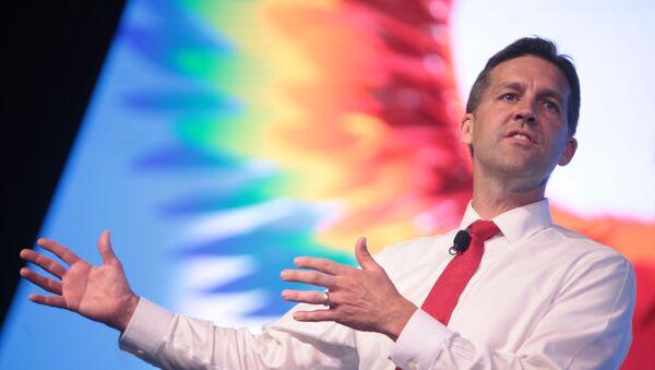 U.S. Senator Ben Sasse of Nebraska speaking at the 2016 FreedomFest at Planet Hollywood in Las Vegas, Nevada. - Sputnik International