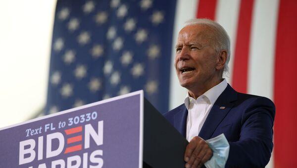 Democratic presidential candidate Joe Biden campaigns in Florida - Sputnik International