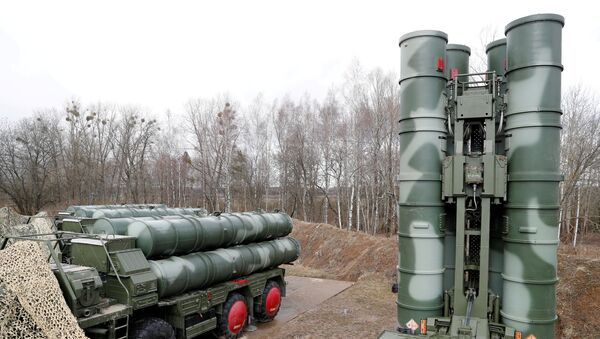 Russia's S-400 Triumph surface-to-air missile system. File photo - Sputnik International
