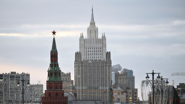 The building of the Ministry of Foreign Affairs of the Russian Federation in Moscow - Sputnik International