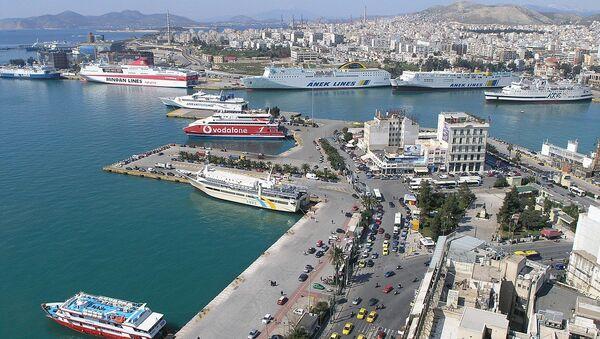 Port of Piraeus - Sputnik International