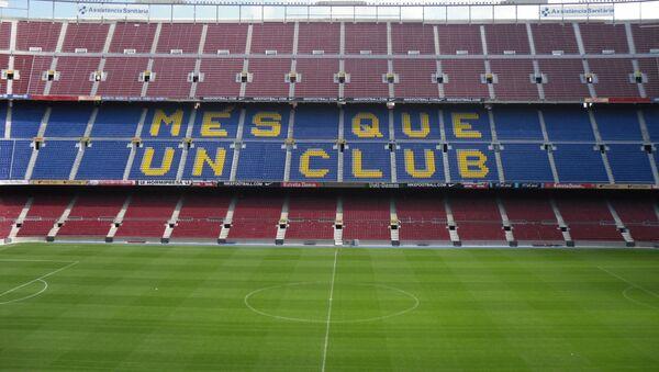 FC Barcelona pitch - Sputnik International