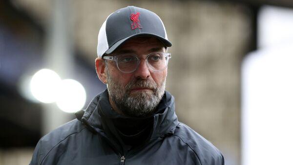 Soccer Football - Premier League - Everton v Liverpool - Goodison Park, Liverpool, Britain - October 17, 2020  Liverpool manager Juergen Klopp - Sputnik International