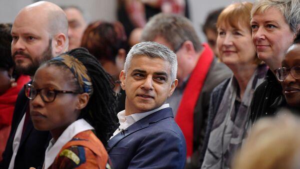 FILE PHOTO: Mayor of London Sadiq Khan launches his re-election campaign in London - Sputnik International