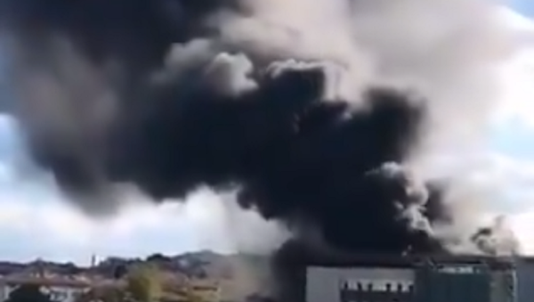 Fire at Istanbul University - Sputnik International