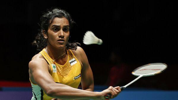 India's Pusarla V. Sindhu hits a return shot against Taiwan's Tai Tzu Ying during Malaysian Master 2020 during Women Single Quarter Finals in Kuala Lumpur, Malaysia, Friday, Jan. 10, 2020 - Sputnik International
