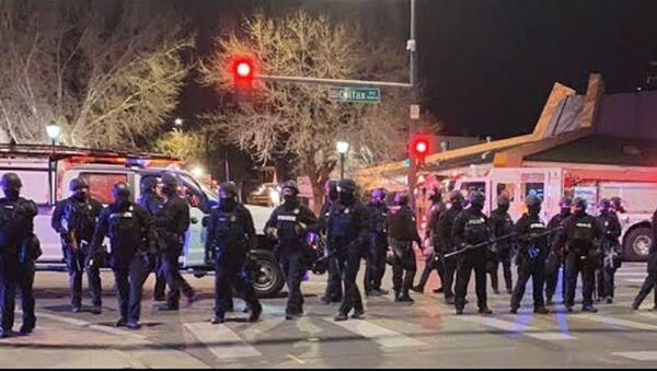 Denver Protests, 4 November 2020 - Sputnik International