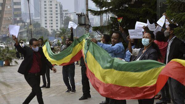 Ethiopians celebrate the building of the Nile dam - Sputnik International