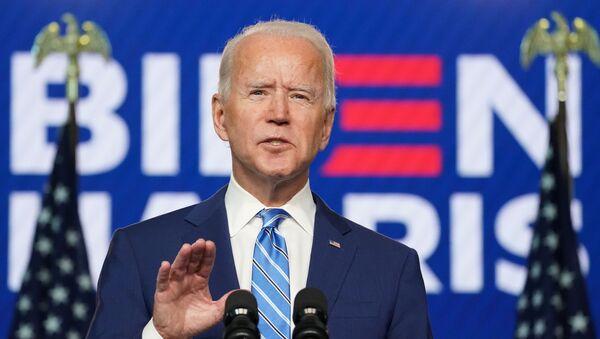 Democratic U.S. presidential nominee Joe Biden speaks about 2020 U.S. presidential election results Wilmington, Delaware - Sputnik International