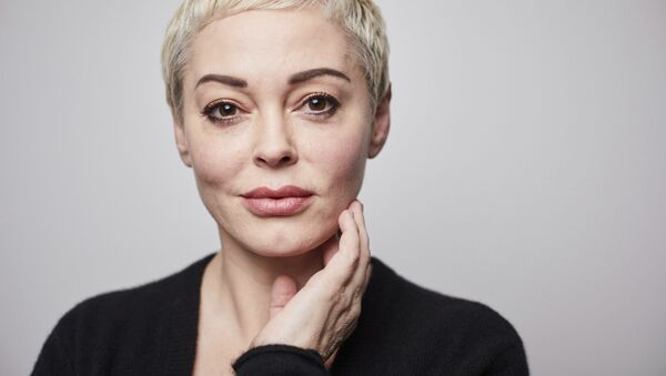 In this Friday, 3 January 2020 photo, Rose McGowan poses for a portrait in New York - Sputnik International