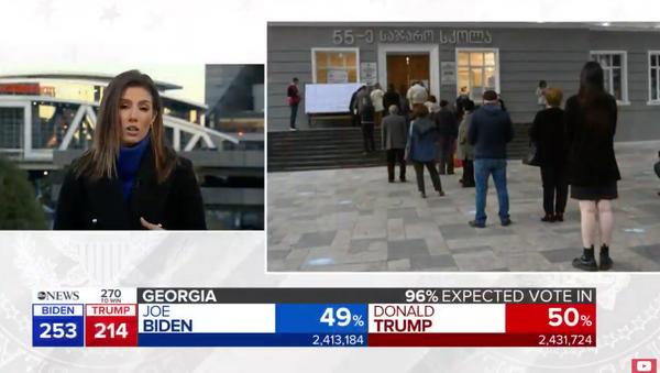 2020 Election Results Live: America Awaits Results From Key Battleground States l ABC News - Sputnik International
