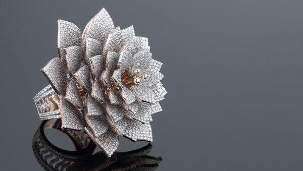 Ring With 7801 Diamonds  - Sputnik International