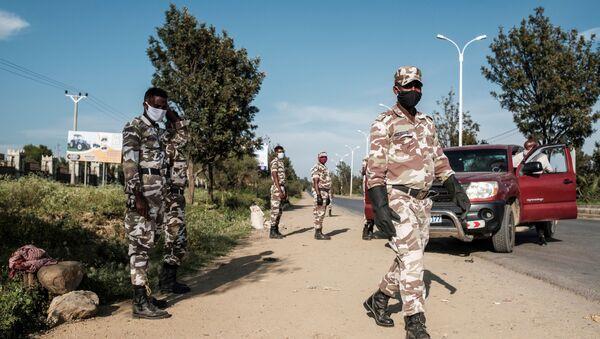 Members of Tigray police (File) - Sputnik International