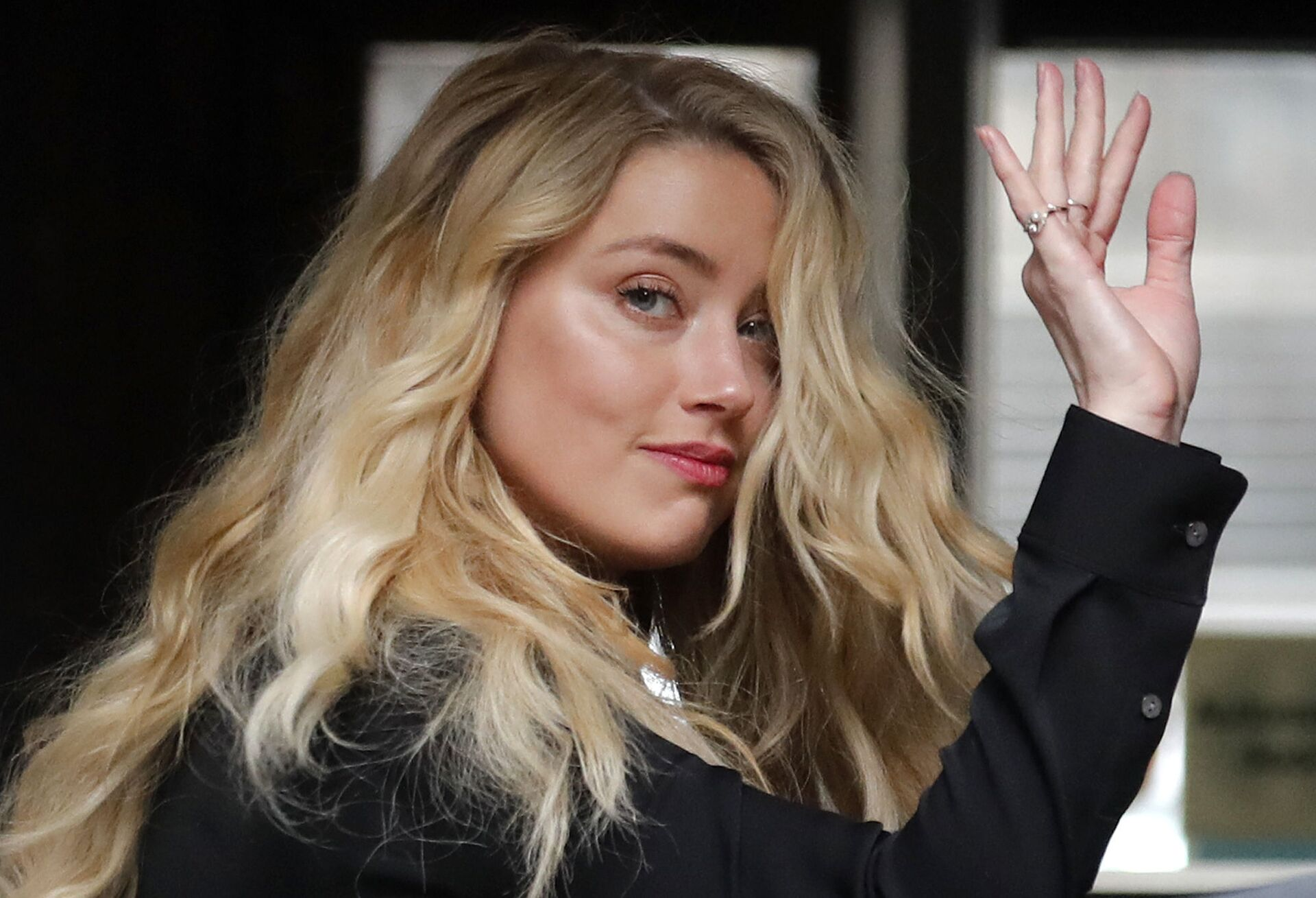 US Actress Amber Heard, former wife of actor Johnny Depp, arrives at the High Court in London, Tuesday, July 28, 2020.  - Sputnik International, 1920, 07.09.2021