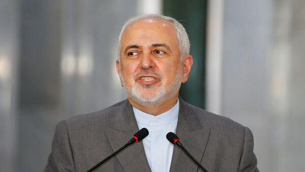 Iran's Foreign Minister Mohammad Javad Zarif speaks in Baghdad, Iraq July 19, 2020.  - Sputnik International