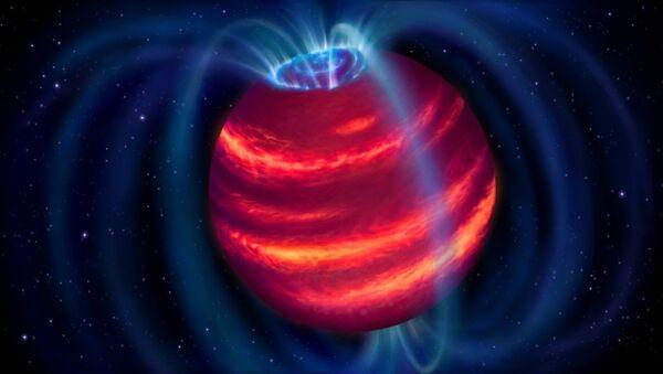 An artist's impression of a cold brown dwarf star, also called a failed star - Sputnik International