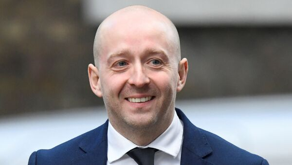 FILE PHOTO - Lee Cain, Downing Street Director of Communications, is seen at Downing Street in London, Britain, January 6, 2020.  - Sputnik International
