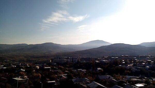 Stepanakert city in the morning of November 10, 2020 - Sputnik International