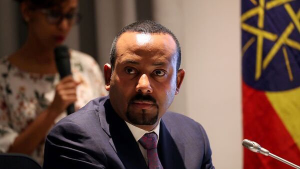 FILE PHOTO: Ethiopia's Prime Minister Abiy Ahmed attends a signing ceremony with European Commission President Ursula von der Leyen in Addis Ababa, Ethiopia December 7, 2019 - Sputnik International
