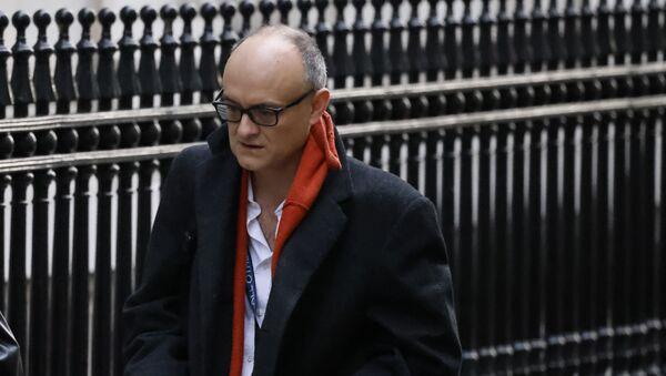 Number 10 special advisor Dominic Cummings arrives in Downing street in London on November 13, 2020.  - Sputnik International
