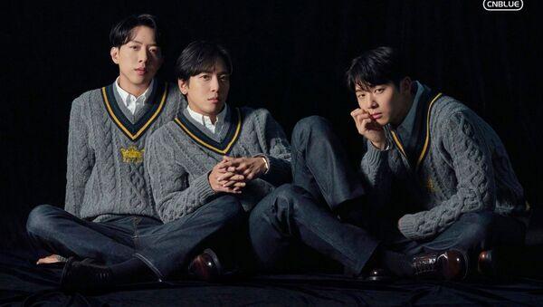 K-pop Band CNBLUE 8th mini album [RE-CODE] - Sputnik International