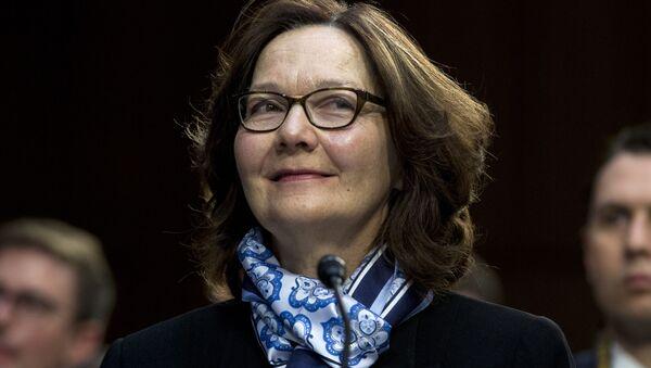CIA Director Gina Haspel testifies before the Senate Intelligence Committee on Capitol Hill in Washington Tuesday, Jan. 29, 2019 - Sputnik International