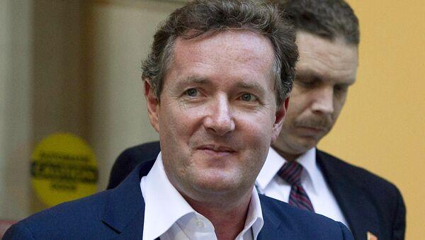 Piers Morgan - Sputnik International