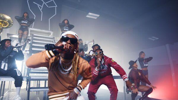 ET Hip Hop Awards 2020 - 2 Chainz,  Lil Wayne - Money Maker, in this image released October 27, 2020. - Sputnik International