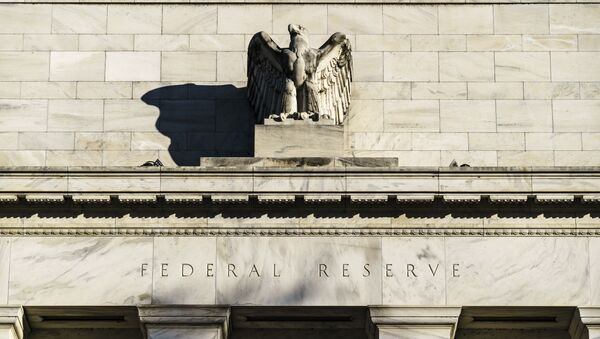 The Federal Reserve is seen in Washington, Monday, Nov. 16, 2020. President Donald Trump's unorthodox choice for the Federal Reserve Board of Governors, Judy Shelton, could be approved by the Senate this week, according to Majority Leader Mitch McConnell's office. - Sputnik International