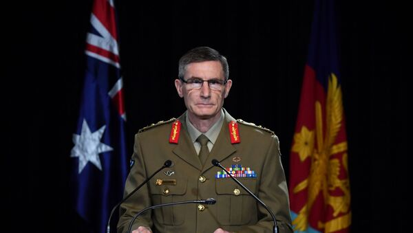 Chief of the Australian Defence Force (ADF) General Angus Campbell delivers the findings from the Inspector-General of the Australian Defence Force Afghanistan Inquiry, in Canberra, Australia, November 19, 2020 - Sputnik International