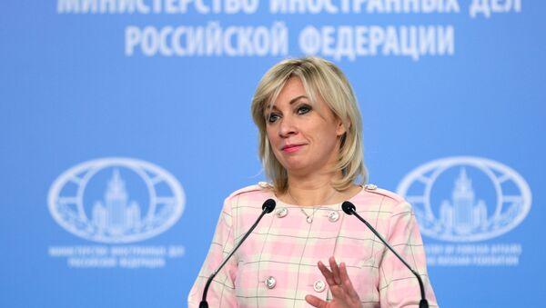 Spokeswoman for the Russian Foreign Ministry Maria Zakharova - Sputnik International