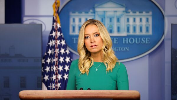 White House Press Secretary Kayleigh McEnany holds a press briefing at the White House in Washington, DC, 20 November 2020.  - Sputnik International