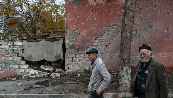 Nagorno-Karabakh residents - Sputnik International