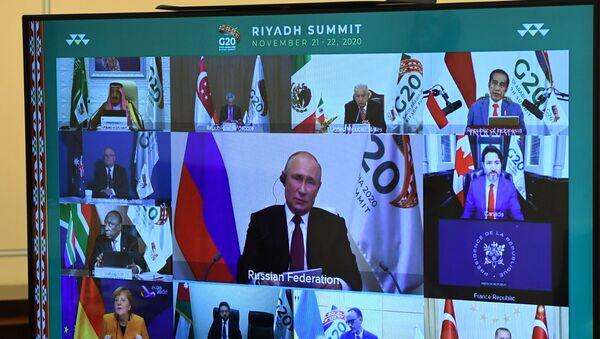 G-20 Leaders' Summit - Sputnik International