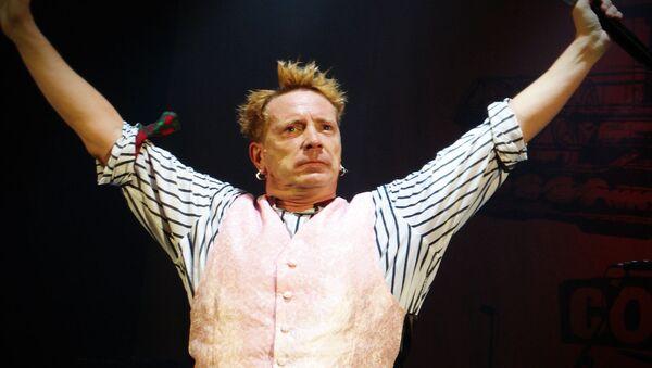A photo of ex-Sex Pistols' Frontman Johnny Rotten Taken on October 5, 2008 titled 'John Lydon says London is over, it's over'  - Sputnik International