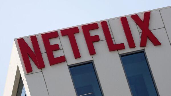 The Netflix logo is seen on their office in Hollywood, Los Angeles, California, U.S. July 16, 2018 - Sputnik International