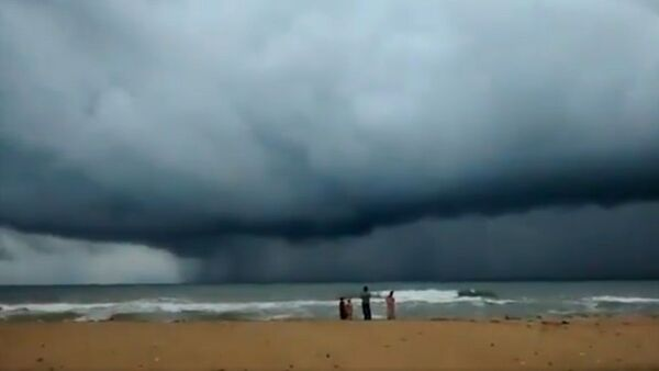 The situation today in Chennai's ECR!  - Sputnik International