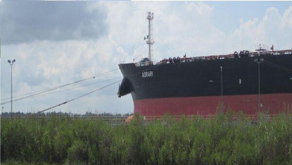 Crude oil tanker Agrari's operated by the TMS Tankers Ltd - Sputnik International