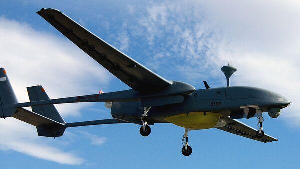 IAI Heron 1 in flight  - Sputnik International